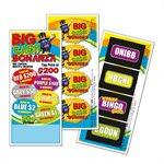 BIG CASH BONANZA 3 x $200 LUCKY ENVELOPE