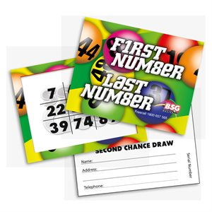 FIRST NUMBER LAST NUMBER CARDS