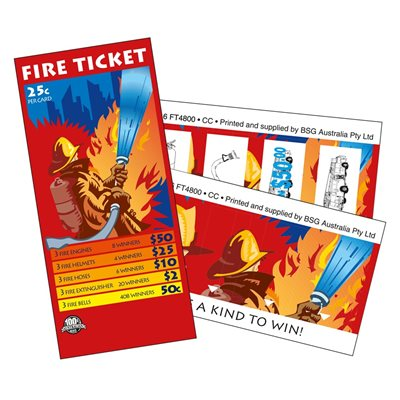 Fire Ticket Lucky Envelope