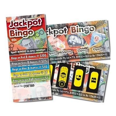 JACKPOT BINGO 8 x $100 LUCKY ENVELOPE