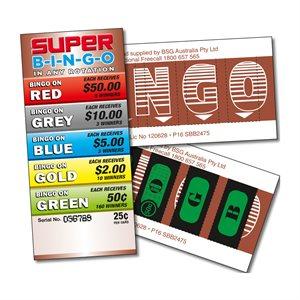 SUPER BINGO 5 x $50 LUCKY ENVELOPE