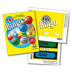 TRI BINGO 4 x $50 LUCKY ENVELOPES