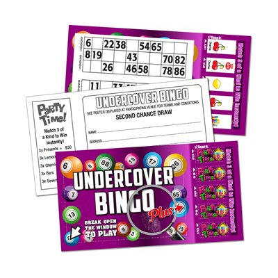 UNDERCOVER BINGO PLUS PARTY TIME