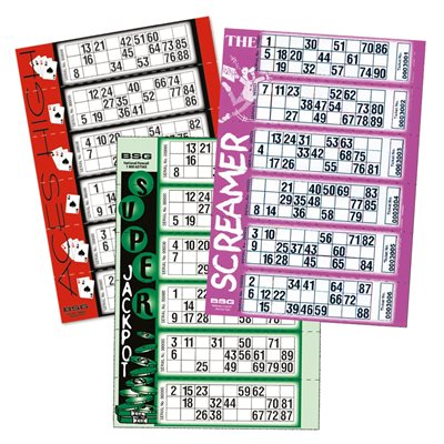 THEMED BINGO SINGLE TICKETS